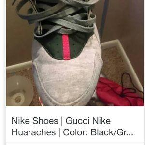 Shoes - Gucci color way Huaraches Sz 9.5 FCFS STEAL!